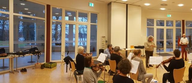 Eisler, Ernste Gesänge, Seddin Januar 2019