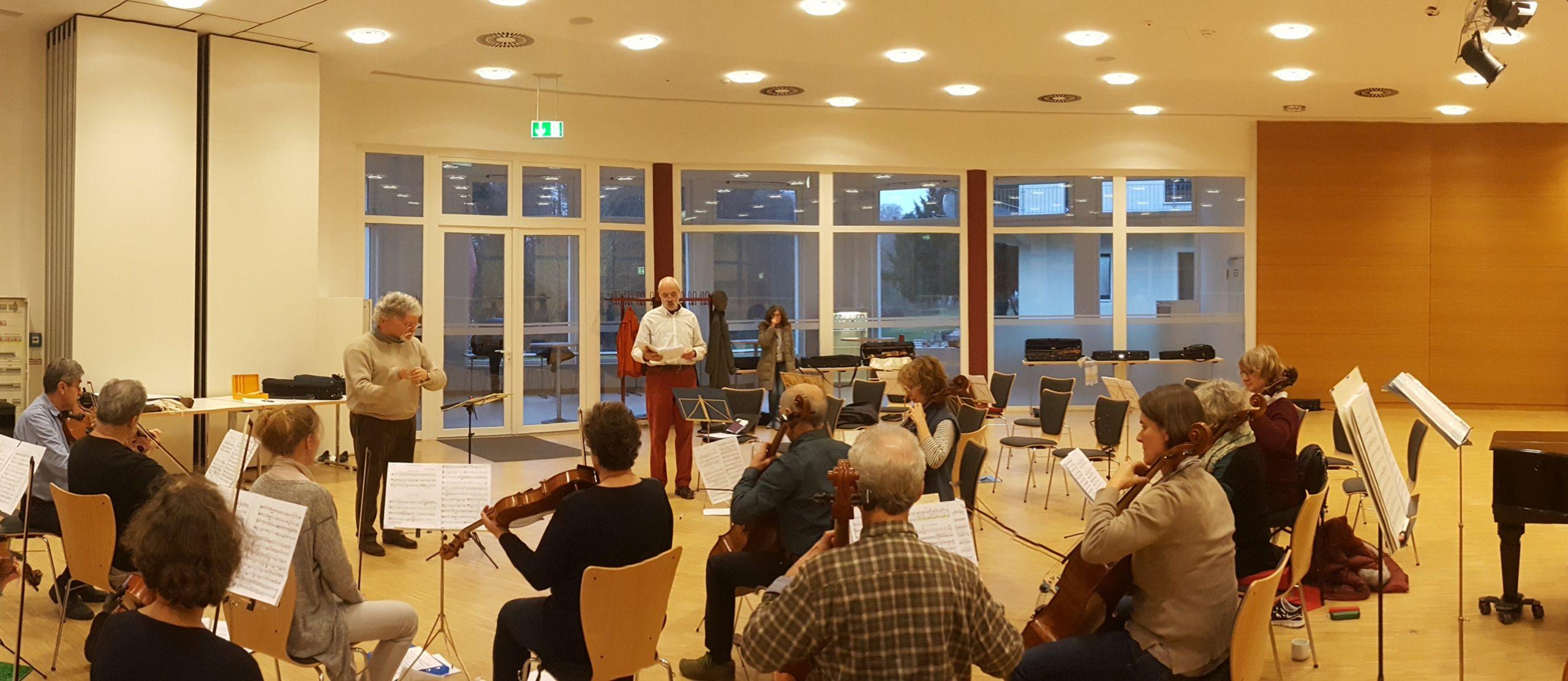 Eisler, Ernste Gesänge, mit Jörg Gottschick, Bariton