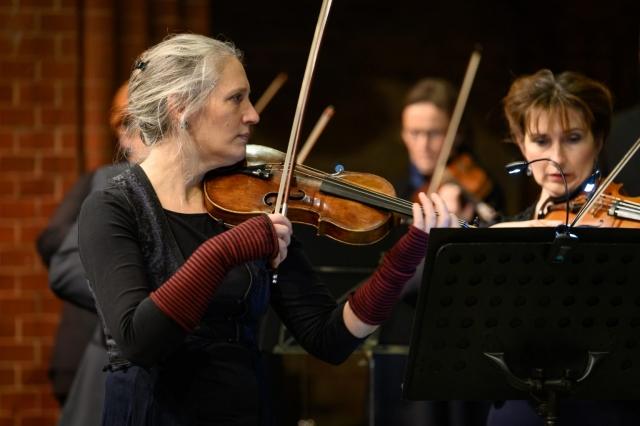 Julia Prigge, Konzertmeisterin