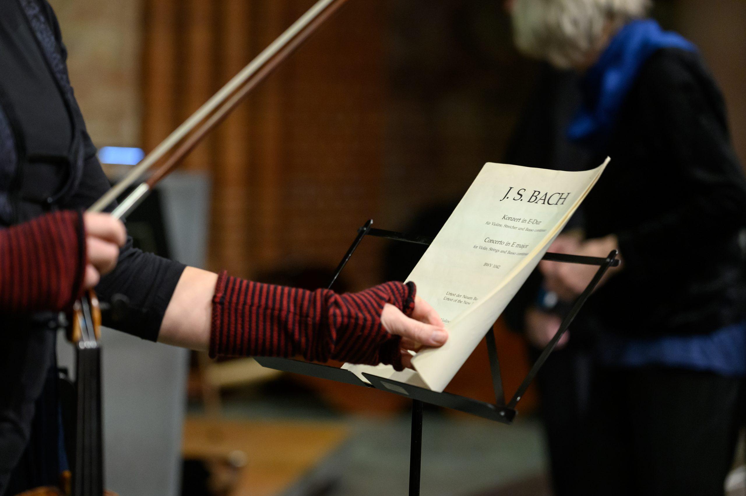 Bach, Violinkonzert E-Dur