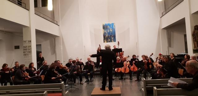 Anspielprobe Januar 2019, Matthäuskirche Kulturforum